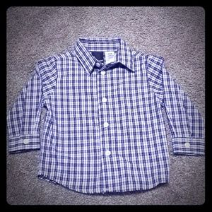 Van Heusen 24 month plaid button down shirt